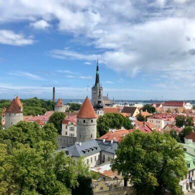 Helsinki i bajkoviti Tallinn