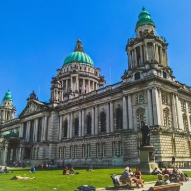 Belfast Irska