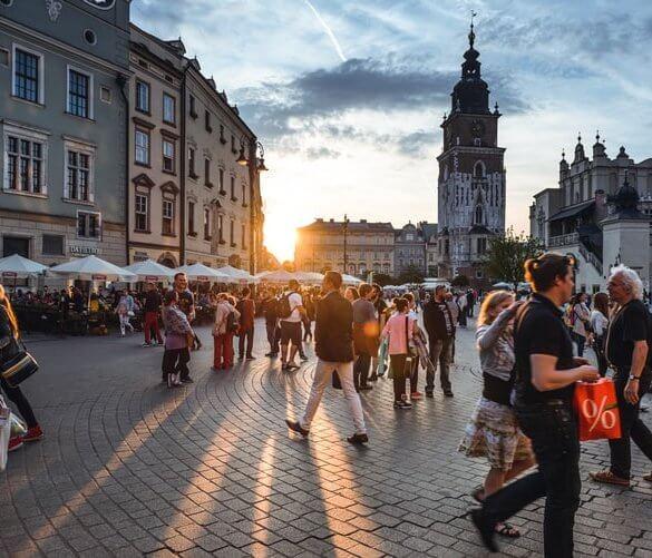 Nova godina 2021. Krakow