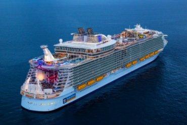 "Symphony of the Seas je kružni brod Oasis klase koji je u vlasništvu i pod upravom "" Royal Caribbean International"