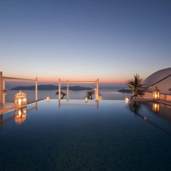 Santorini Grčka