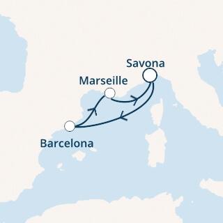 Itinerer Costa Fortuna jesen 2021.